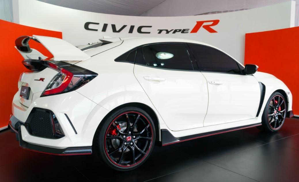 Luna trasera pequeña Honda Civic Type-R