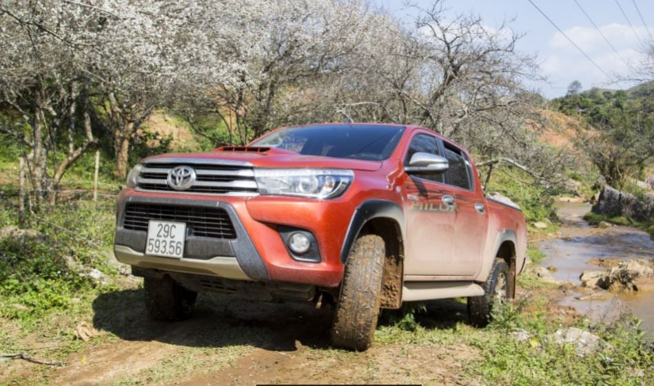 "alt="" Nuevo frontal del Toyota Hilux"""