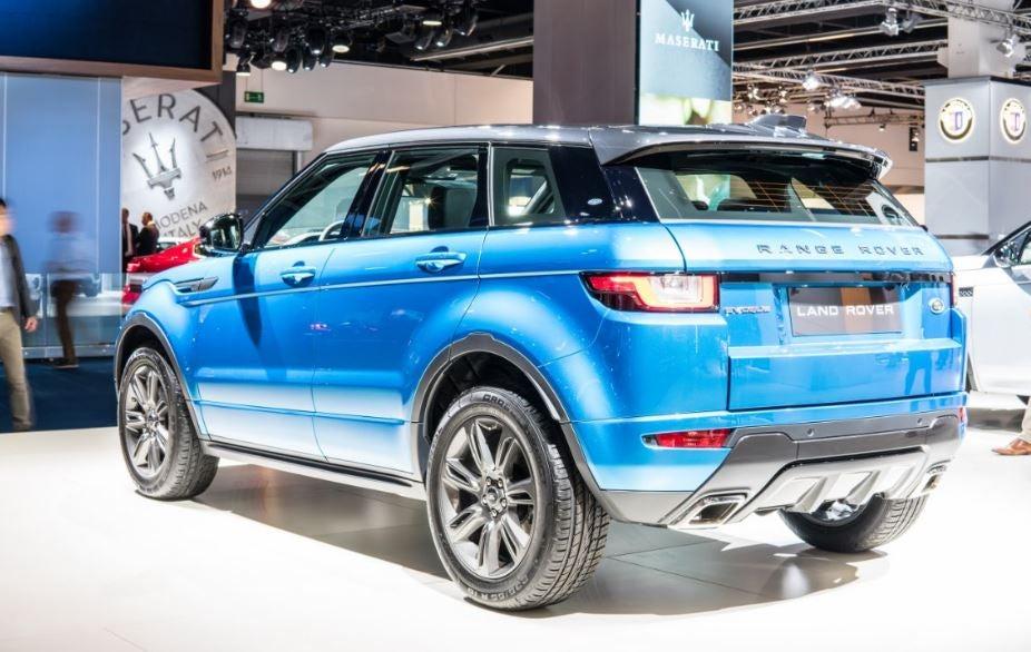 """alt=Range Rover Evoque visión trasera"""""""