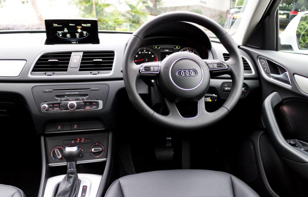 Interior del Audi Q3.