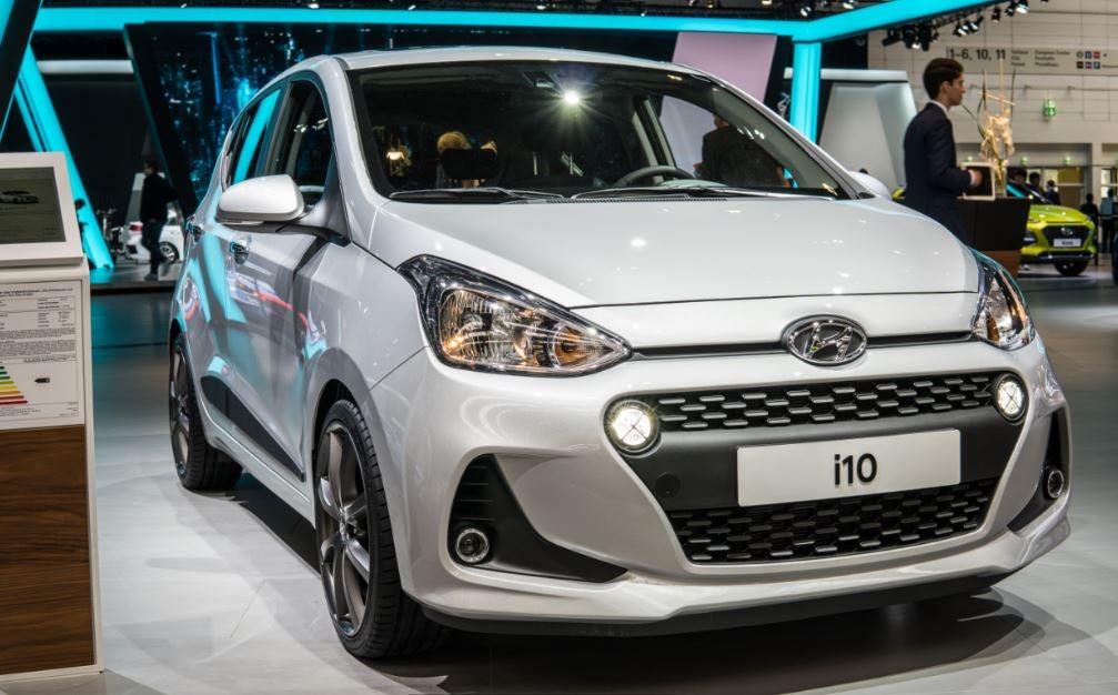 Nuevo Hyundai i10: frontal