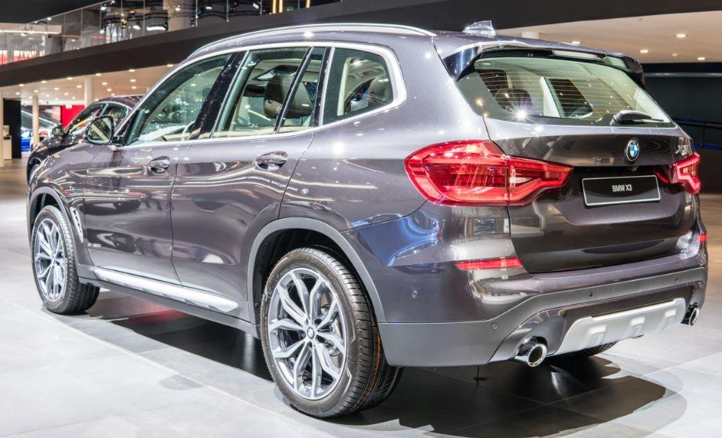 BMW X3: tamaño