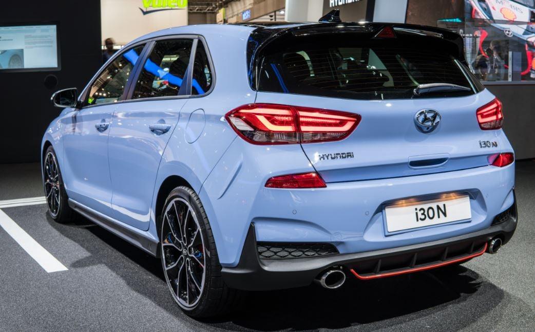 Hyundai i30: trasera.