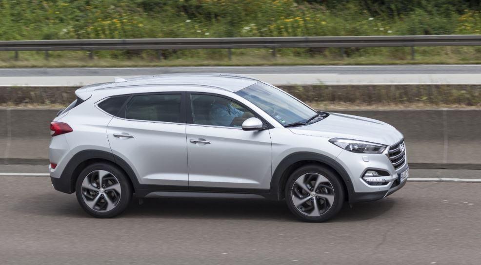"""alt=""""Aspecto robusto y dinámico del Hyundai Tucson"""""""