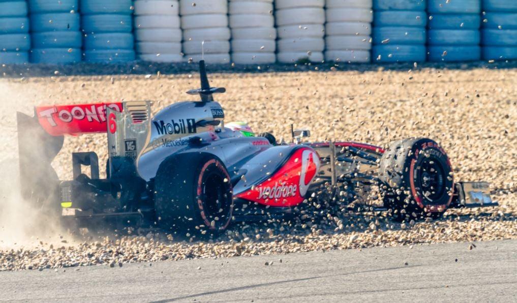 """alt=""""El meicono piloto de Fórmula Uno Sergio Pérez, conocido como el checo Pérez"""""""