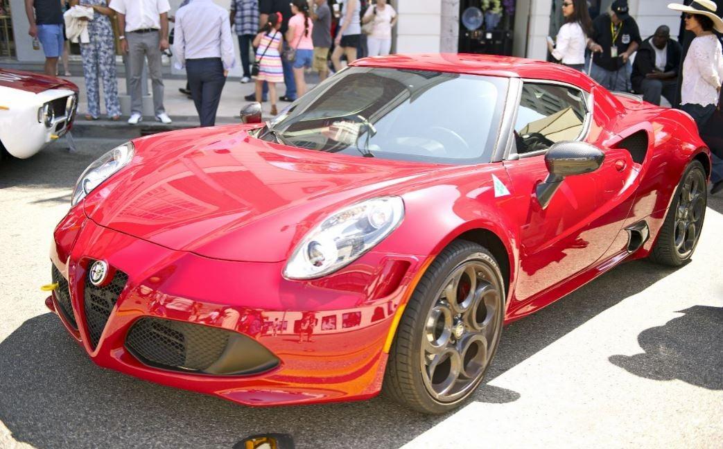 "alt="" Alfa Romeo 8c verdadero deportivo"""