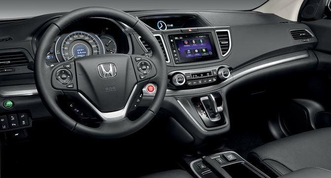 Nuevo Honda CR-V 2017, con gran diseño interior y exterior.