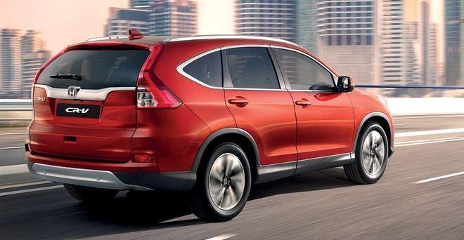 Nuevo Honda CR-V 2017.