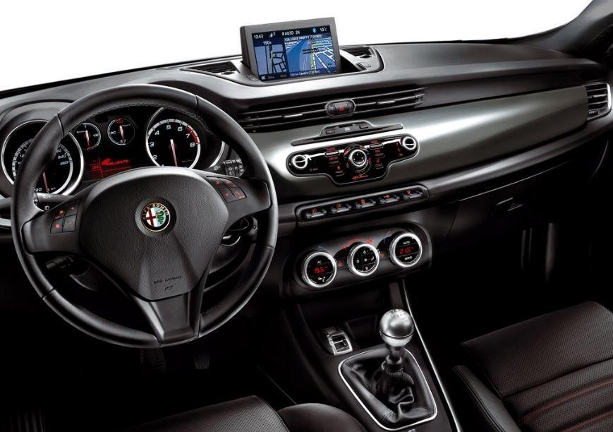 Interior Alfa Romeo Giulietta.