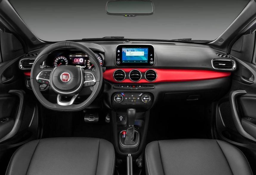 Interior del Fiat Argo.