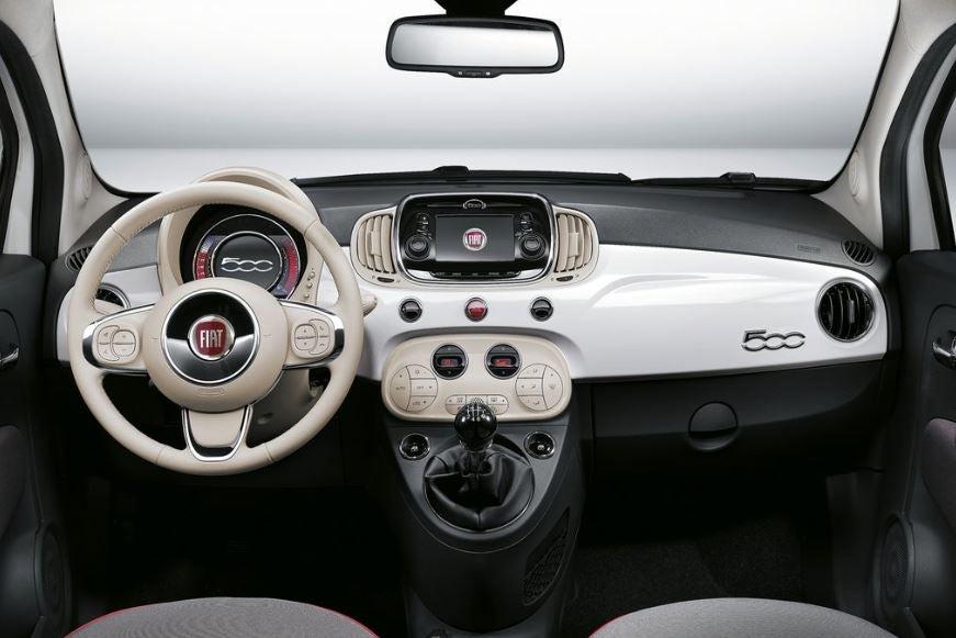 Interior del nuevo Fiat 500.