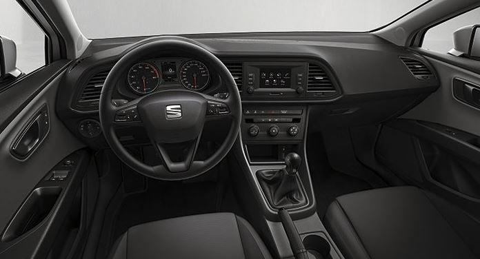 Interior del nuevo SEAT León.