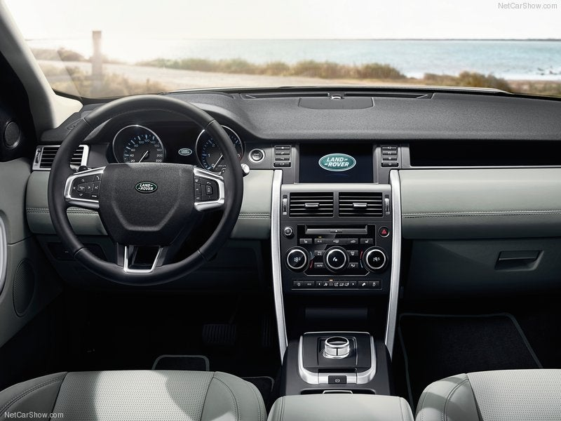 Land Rover Discovery Sport: interior