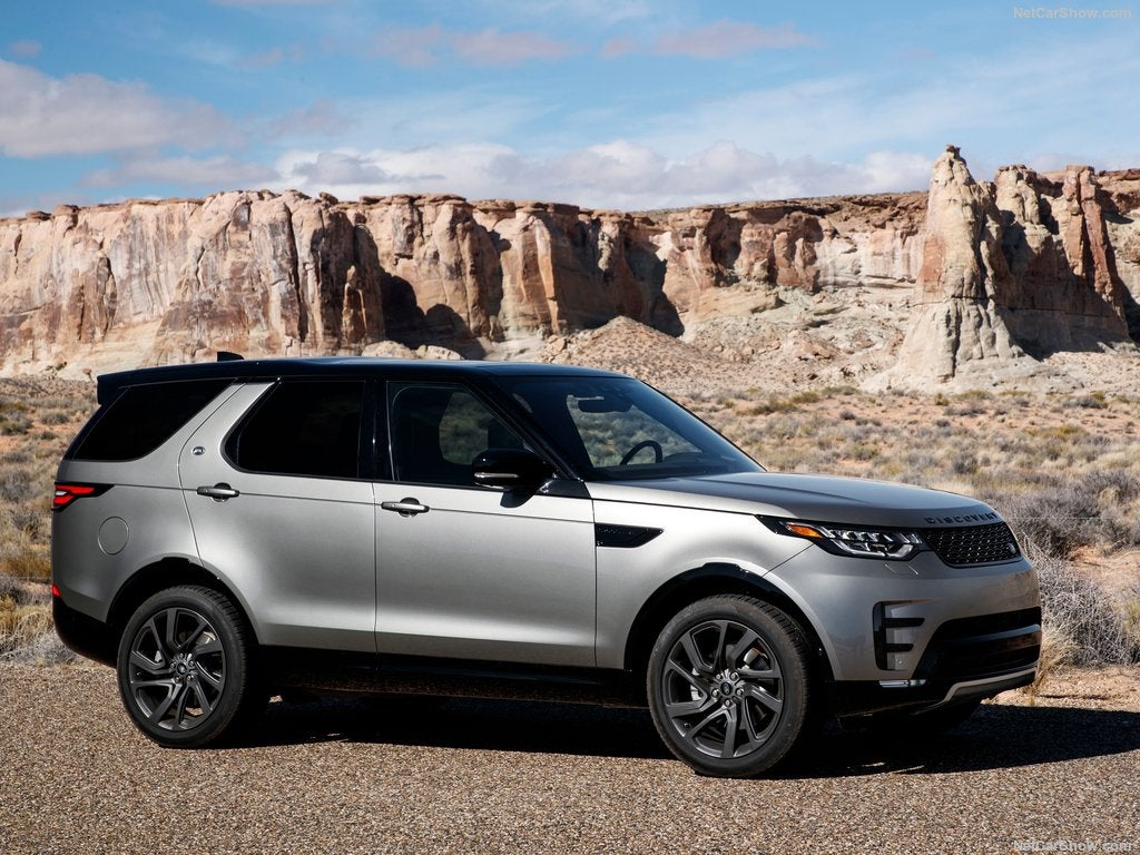 Land Rover Discovery Sport: lateral