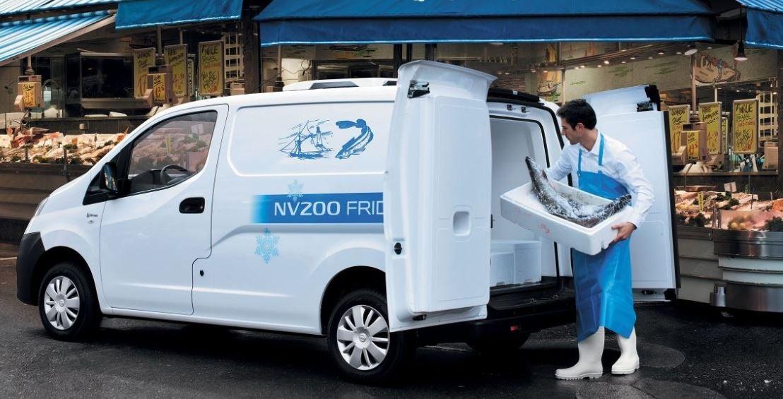 Vehículo comercial Nissan NV 200.