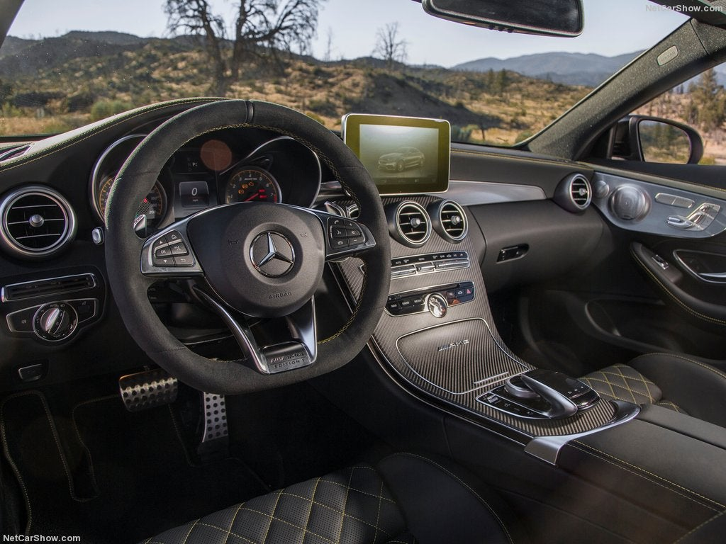 2017 Mercedes-AMG C63 Coupé Edition 1: interior