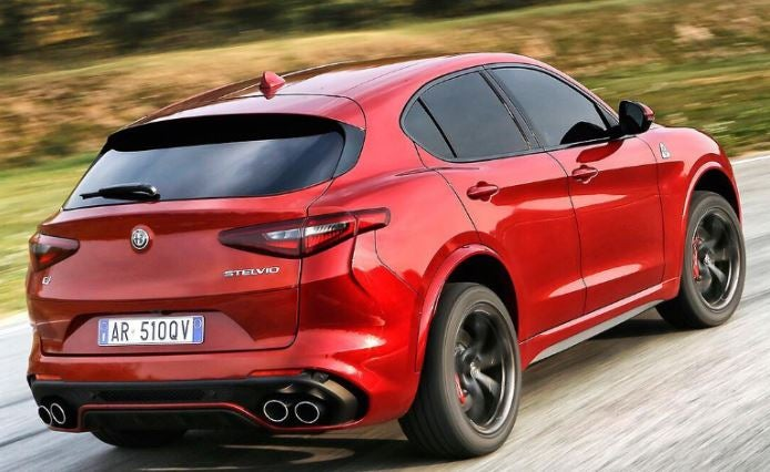 Alfa Romeo Stelvio Quadrifoglio Verde: trasera