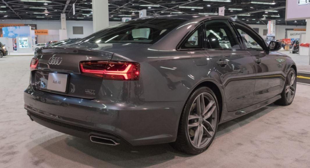 Visión trasera del Audi A6