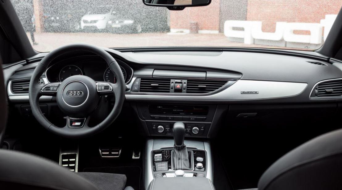 Interior del Audi A6