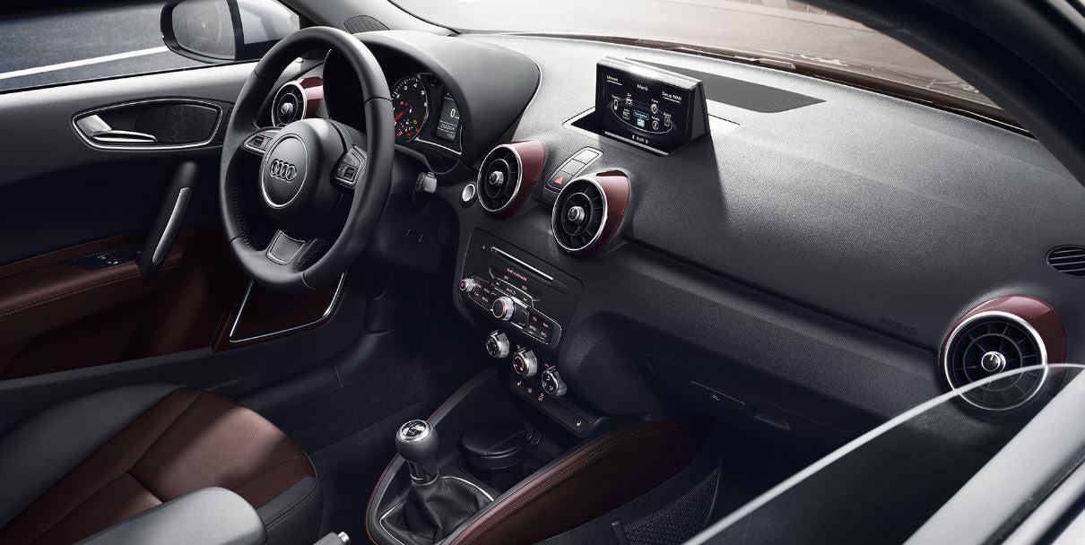 interior del nuevo Audi A1