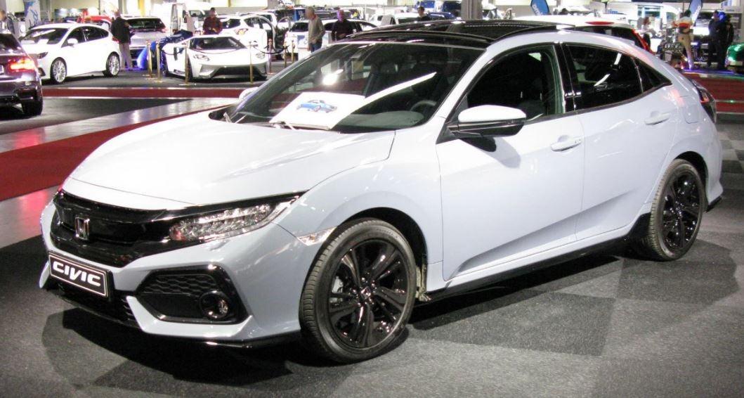 """alt=""""Honda Civic 5 puertas blanco"""""""