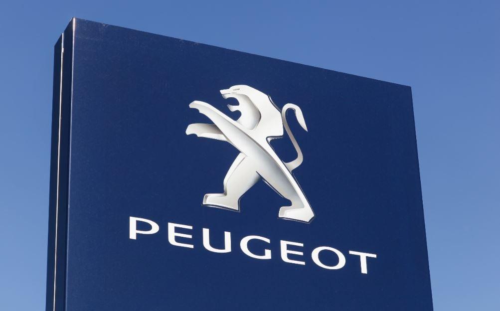 Logotipo de la marca Peugeot.