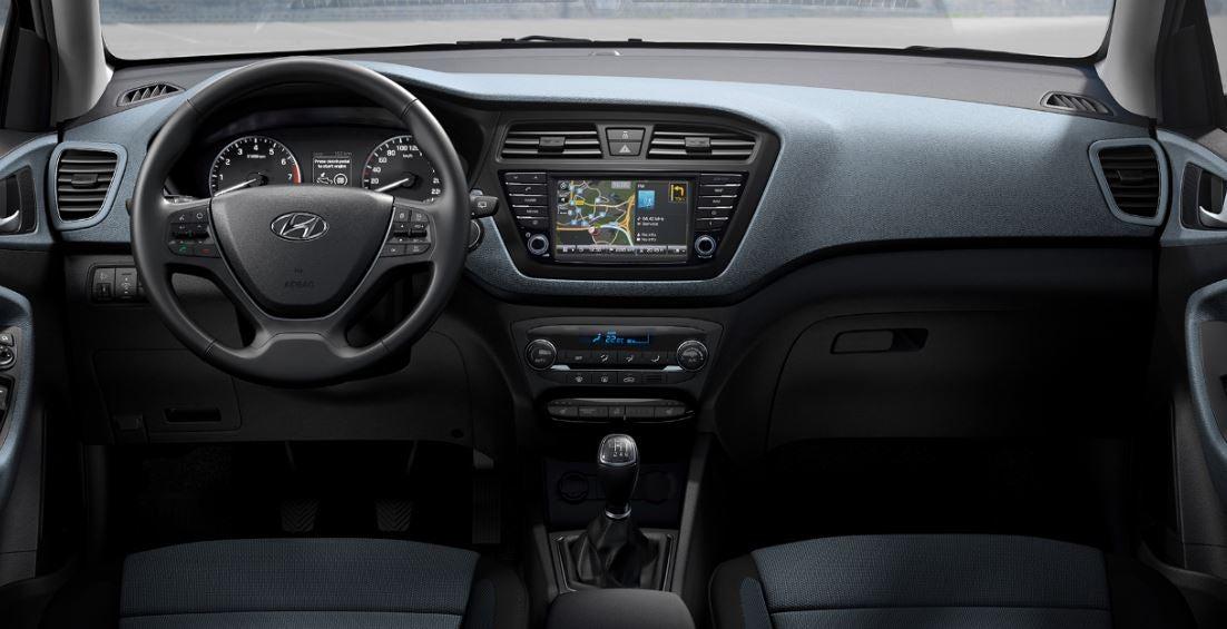 Hyundai i20 interior nuevo