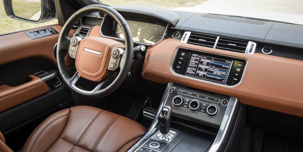 Interior del nuevo Land Rover
