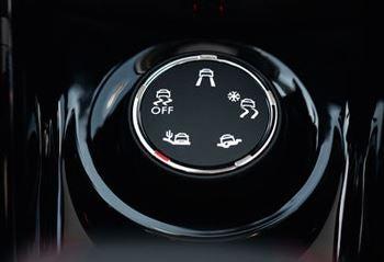 Imagen de la ruleta de control de Grip del Peugeot 2008