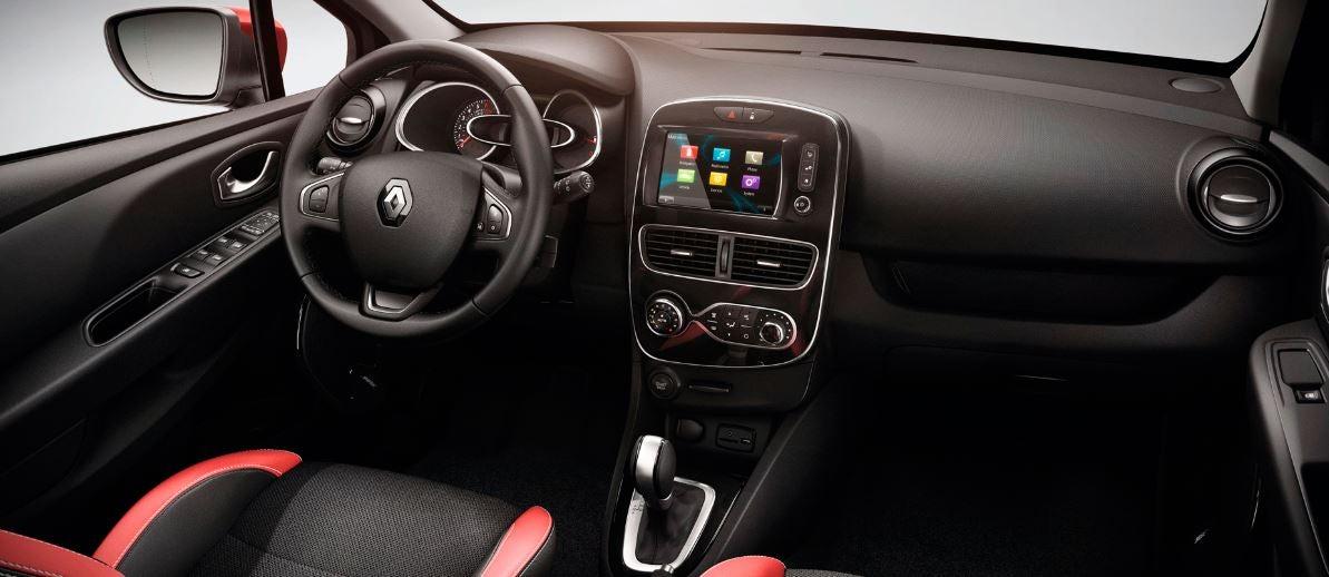 Renault clio última versión interior