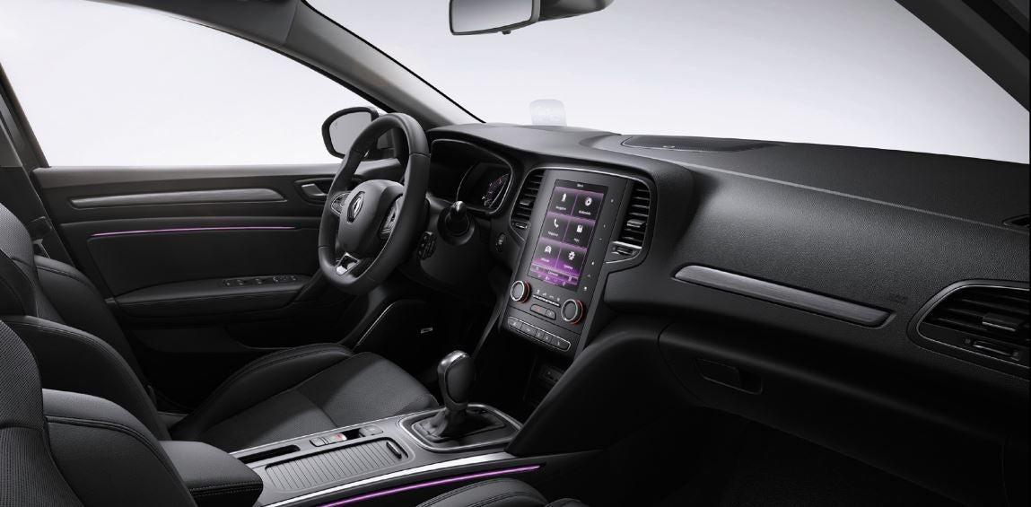 Interior de la nueva versión del Renault Megane