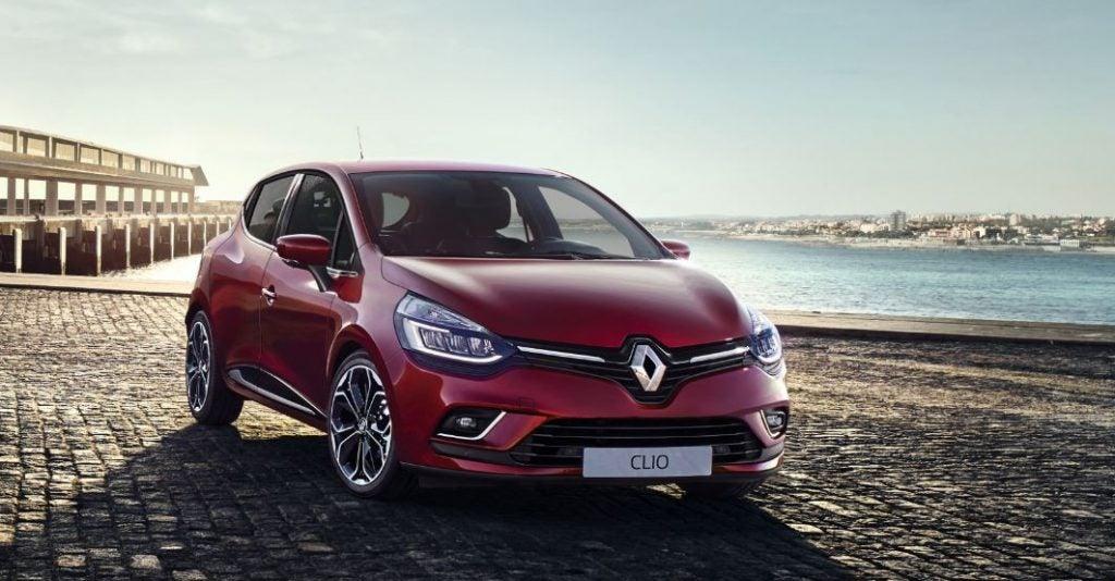 Últmia generación del Renault Clio