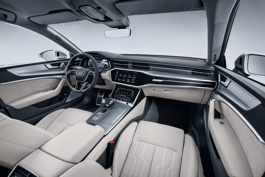 Audi A7 Sportback: interior