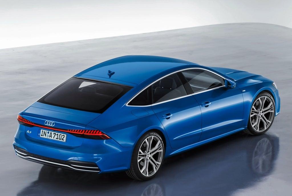 Audi A7 Sportback: trasera
