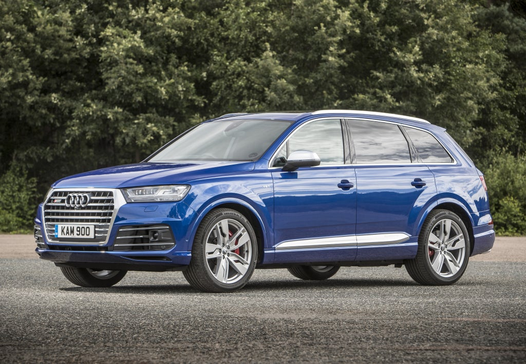Audi Q7: lateral