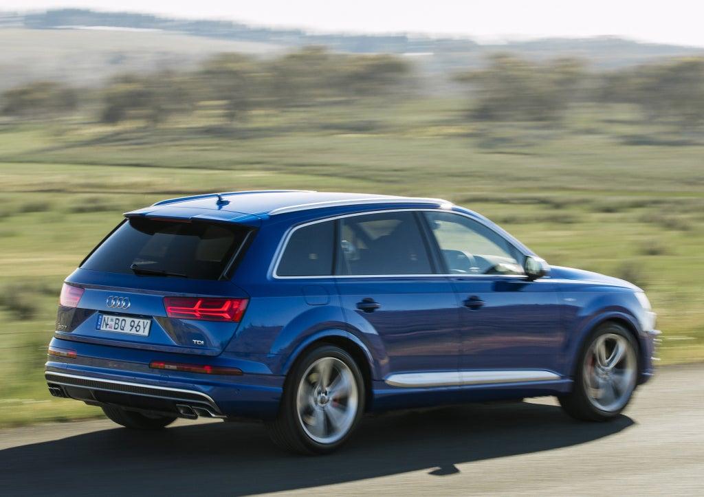 Audi Q7: trasera