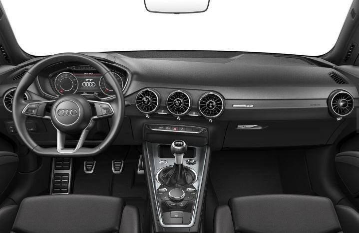Nuevo Audi TT 2018 interior.