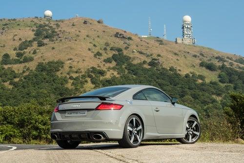 Audi TT RS Coupé: trasera