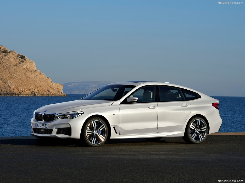Frontal del BMW Serie 6 Gran Turismo: frontal
