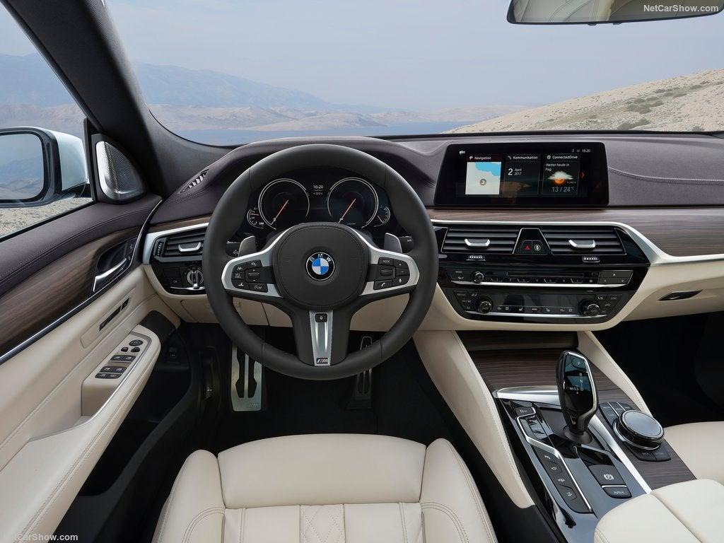 BMW Serie 6 Gran Turismo: interior