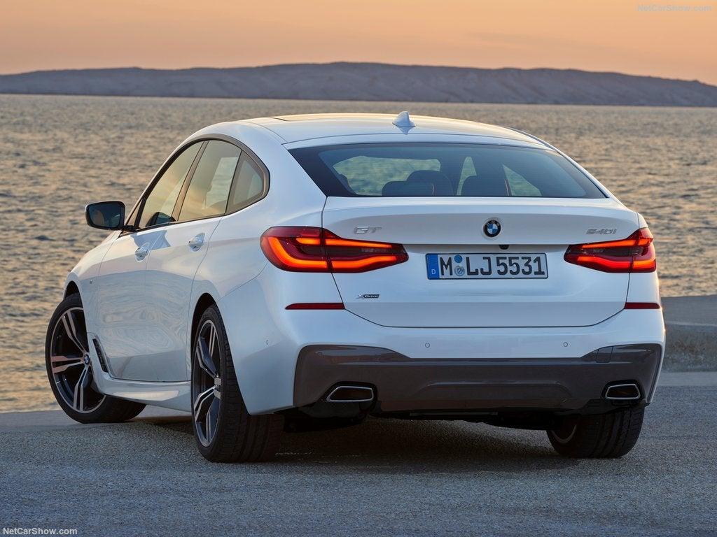 BMW Serie 6 Gran Turismo: trasera