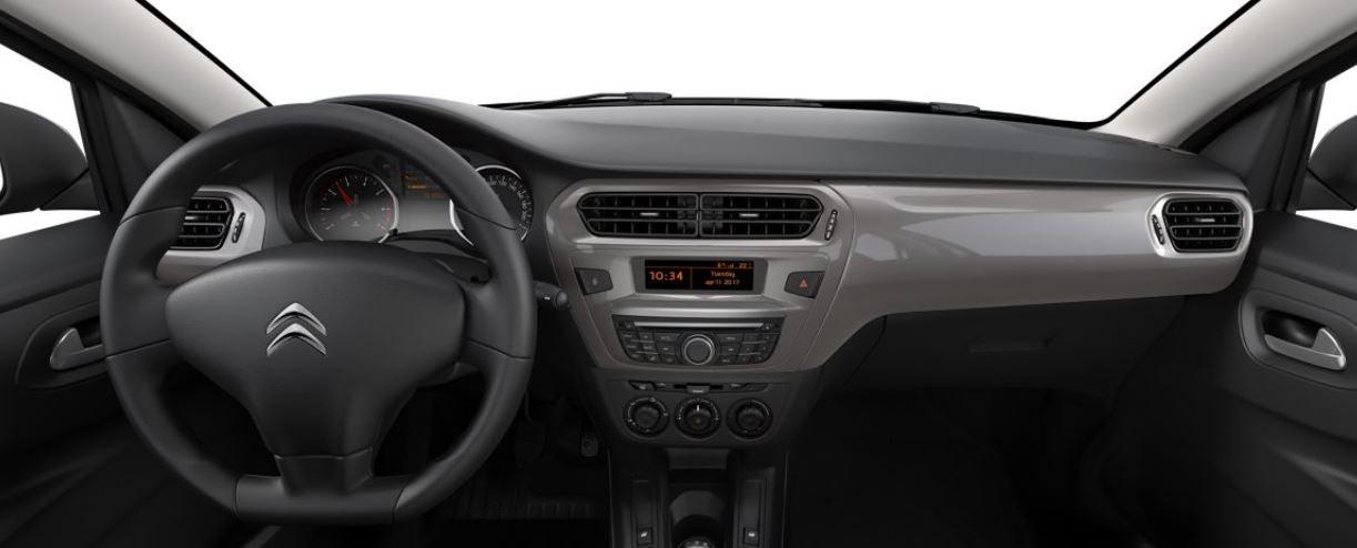 Interior del nuevo Citroën C-Elysée
