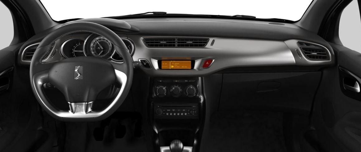 Imagen interior del Citroën DS 3