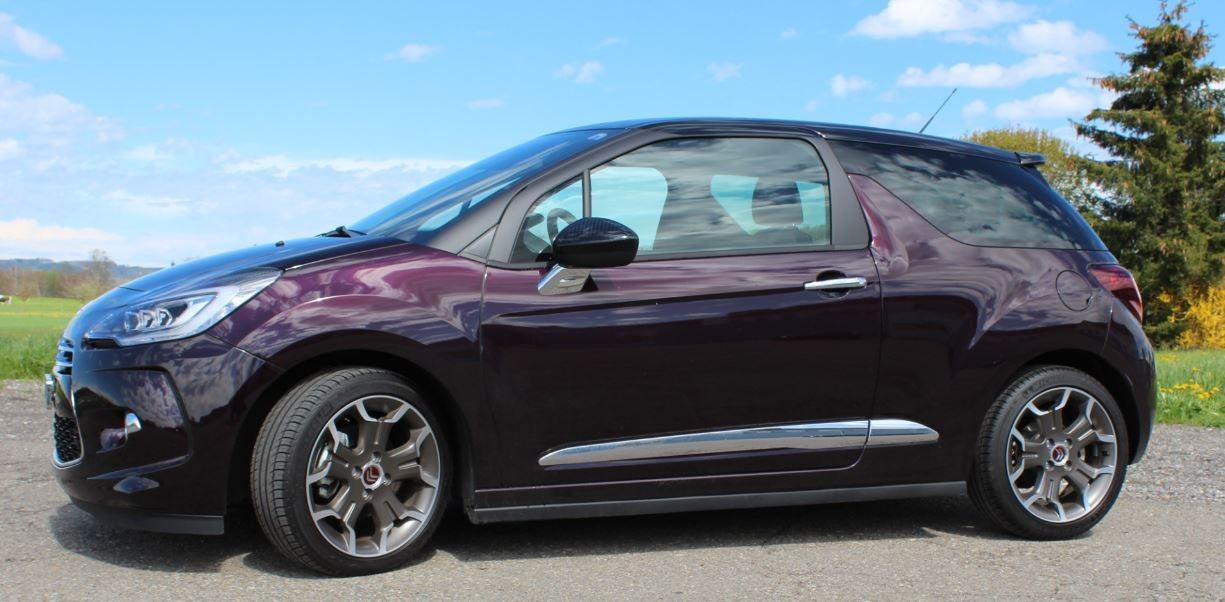 Visón exterior de la actualización del Citroën DS 3