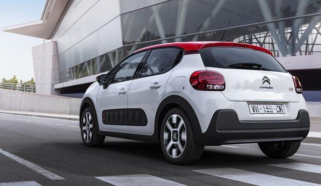 Diseño del nuevo Citroën C3.
