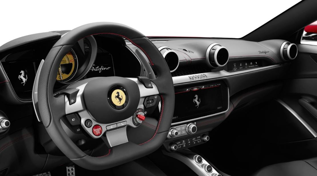 imagen del interior del nuevo Ferrari Potofino
