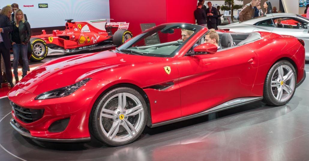 Ferrari Portodino Frankfuert presentación 2017