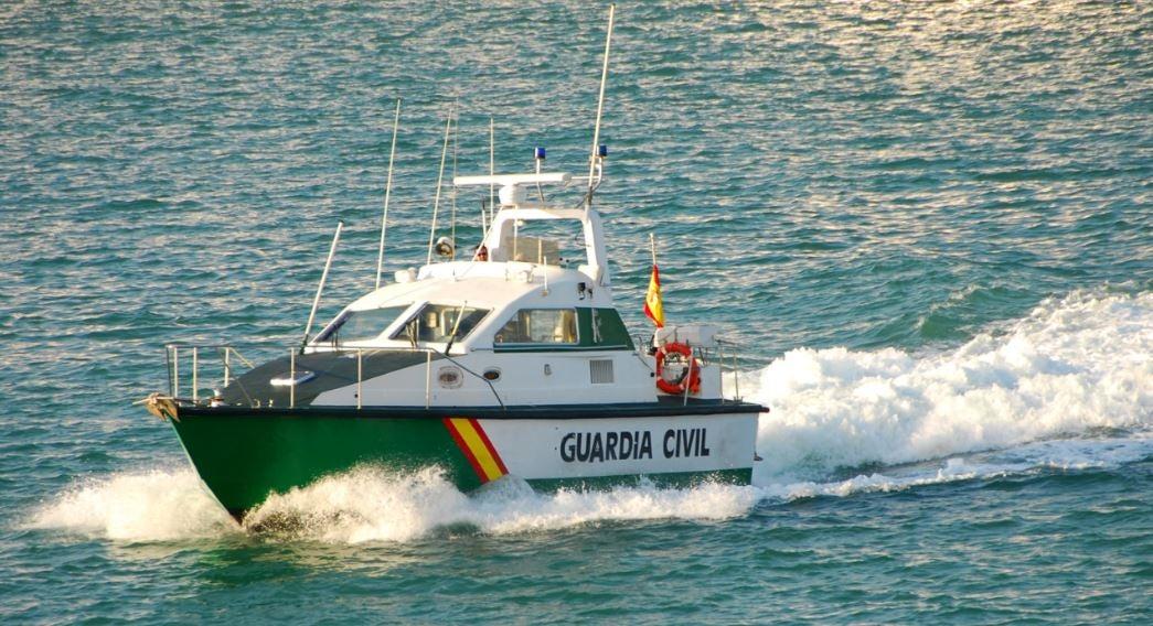 Guardia Civil control fronteras marítimo