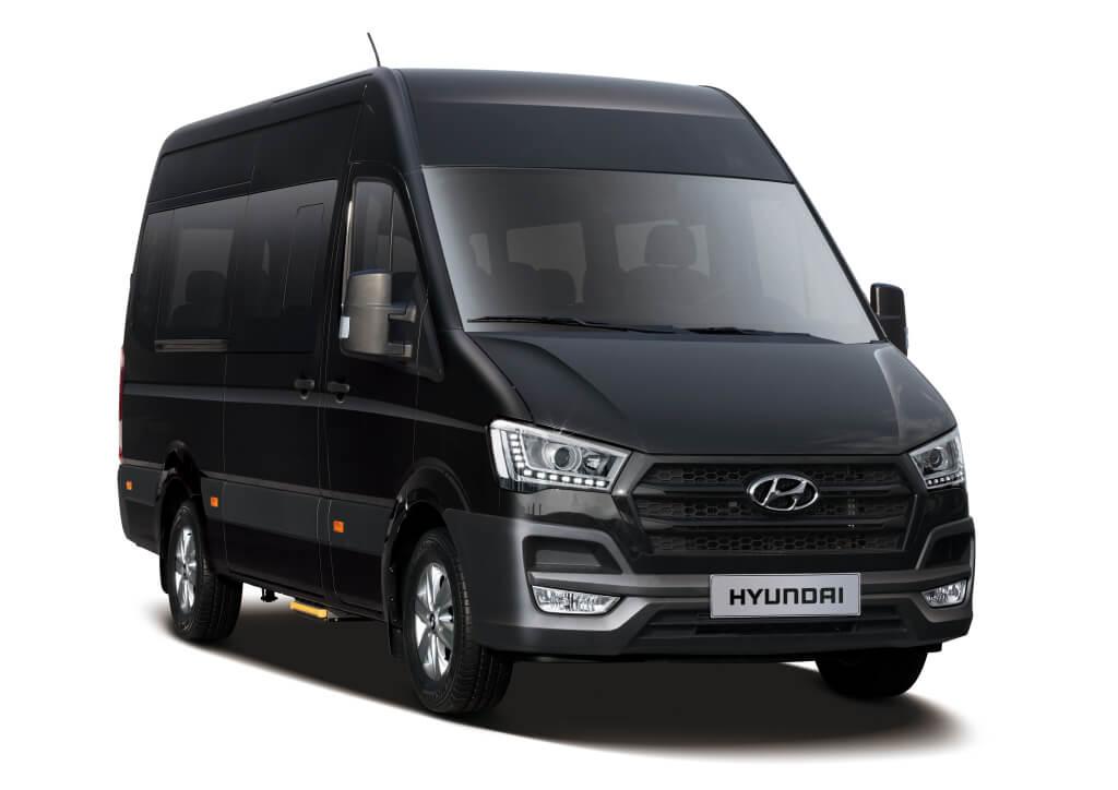 Hyundai H350. La nueva furgoneta Hyundai.