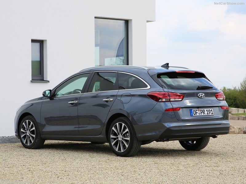 Hyundai i30 CW: trasera